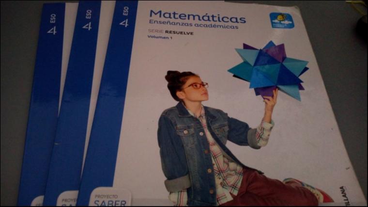 Matemáticas - 4 ESO -SANTILLANA | Libros de segunda mano en Telde