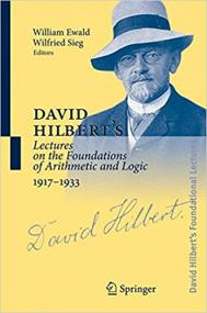 David Hilbert´s Lectures on the Foundations of Physics 1915-1927 portada