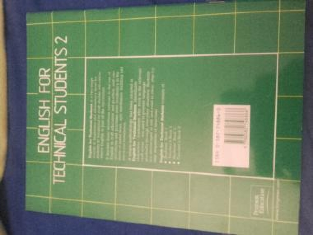 English for technical students 2